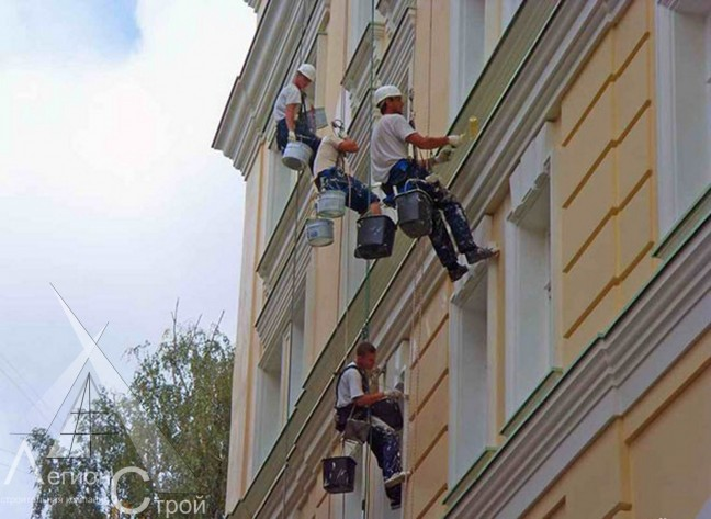 Смета на капитальный ремонт фасада
